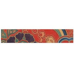 Vintage Chinese Brocade Flano Scarf (large)