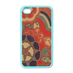 Vintage Chinese Brocade Apple Iphone 4 Case (color)