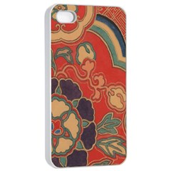 Vintage Chinese Brocade Apple Iphone 4/4s Seamless Case (white)