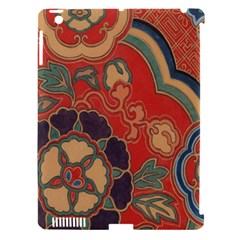 Vintage Chinese Brocade Apple iPad 3/4 Hardshell Case (Compatible with Smart Cover)