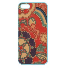 Vintage Chinese Brocade Apple Seamless Iphone 5 Case (color)