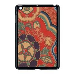 Vintage Chinese Brocade Apple iPad Mini Case (Black)