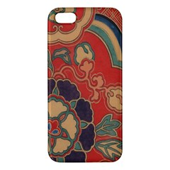 Vintage Chinese Brocade Apple Iphone 5 Premium Hardshell Case