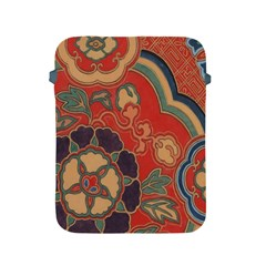 Vintage Chinese Brocade Apple Ipad 2/3/4 Protective Soft Cases