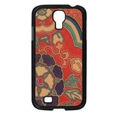 Vintage Chinese Brocade Samsung Galaxy S4 I9500/ I9505 Case (black)
