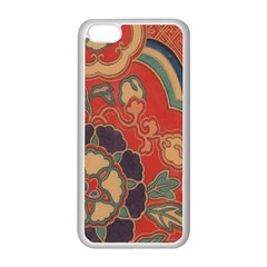 Vintage Chinese Brocade Apple Iphone 5c Seamless Case (white)