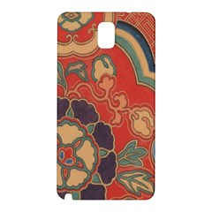 Vintage Chinese Brocade Samsung Galaxy Note 3 N9005 Hardshell Back Case