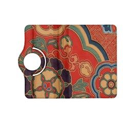 Vintage Chinese Brocade Kindle Fire HD (2013) Flip 360 Case