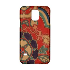 Vintage Chinese Brocade Samsung Galaxy S5 Hardshell Case