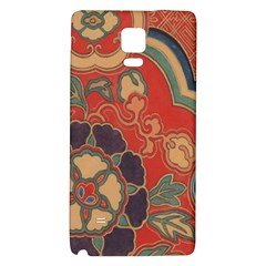 Vintage Chinese Brocade Galaxy Note 4 Back Case