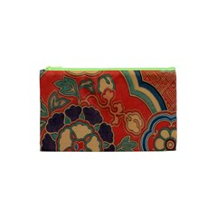 Vintage Chinese Brocade Cosmetic Bag (xs)