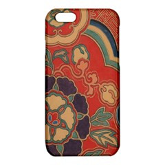Vintage Chinese Brocade iPhone 6/6S TPU Case