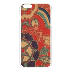Vintage Chinese Brocade Apple Seamless iPhone 6 Plus/6S Plus Case (Transparent)