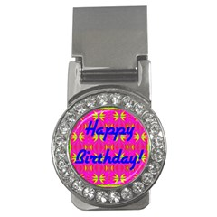 Happy Birthday! Money Clips (cz)