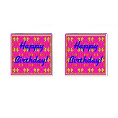 Happy Birthday! Cufflinks (square)