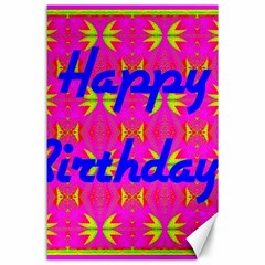 Happy Birthday! Canvas 24  x 36