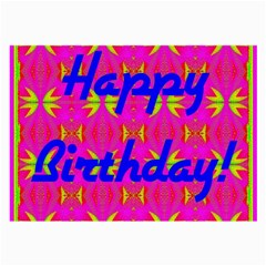 Happy Birthday! Large Glasses Cloth (2 Side)