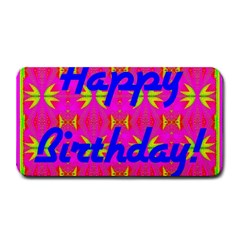 Happy Birthday! Medium Bar Mats