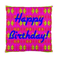 Happy Birthday! Standard Cushion Case (One Side)