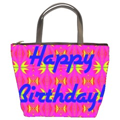 Happy Birthday! Bucket Bags