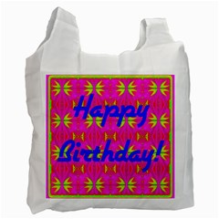 Happy Birthday! Recycle Bag (One Side)