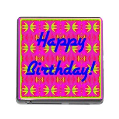 Happy Birthday! Memory Card Reader (square)