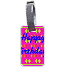 Happy Birthday! Luggage Tags (two Sides)