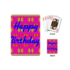 Happy Birthday! Playing Cards (Mini)