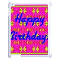 Happy Birthday! Apple iPad 2 Case (White)
