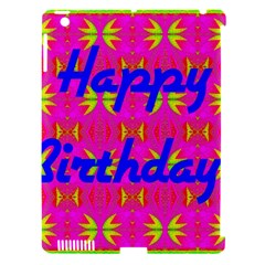 Happy Birthday! Apple Ipad 3/4 Hardshell Case (compatible With Smart Cover)