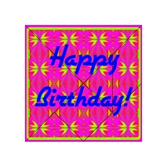 Happy Birthday! Acrylic Tangram Puzzle (4  X 4 )