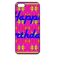 Happy Birthday! Apple iPhone 5 Seamless Case (Black)