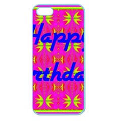 Happy Birthday! Apple Seamless iPhone 5 Case (Color)