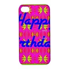 Happy Birthday! Apple Iphone 4/4s Hardshell Case With Stand