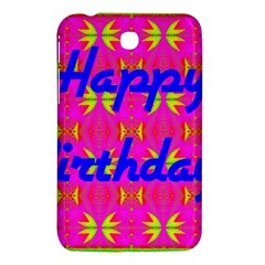 Happy Birthday! Samsung Galaxy Tab 3 (7 ) P3200 Hardshell Case