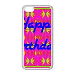 Happy Birthday! Apple Iphone 5c Seamless Case (white)