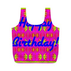 Happy Birthday! Full Print Recycle Bags (M)