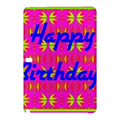 Happy Birthday! Samsung Galaxy Tab Pro 12 2 Hardshell Case
