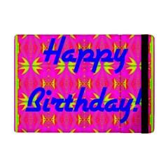 Happy Birthday! iPad Mini 2 Flip Cases