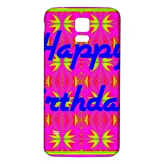 Happy Birthday! Samsung Galaxy S5 Back Case (White)