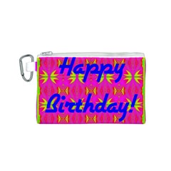 Happy Birthday! Canvas Cosmetic Bag (s)