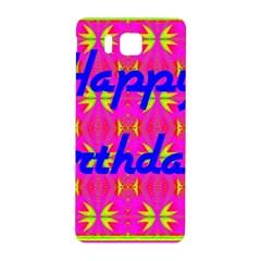 Happy Birthday! Samsung Galaxy Alpha Hardshell Back Case