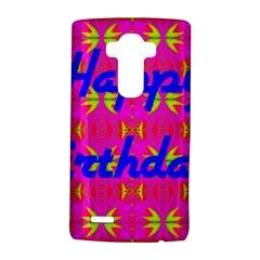 Happy Birthday! Lg G4 Hardshell Case