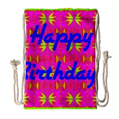 Happy Birthday! Drawstring Bag (Large)