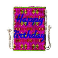 Happy Birthday! Drawstring Bag (small)