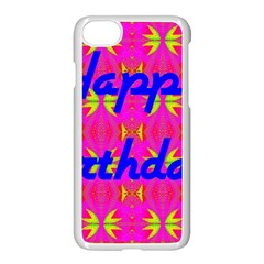 Happy Birthday! Apple Iphone 7 Seamless Case (white)
