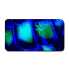 Blue Scales Pattern Background Medium Bar Mats