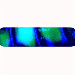 Blue Scales Pattern Background Large Bar Mats