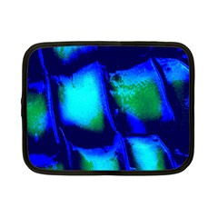 Blue Scales Pattern Background Netbook Case (small)
