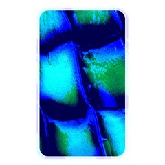Blue Scales Pattern Background Memory Card Reader